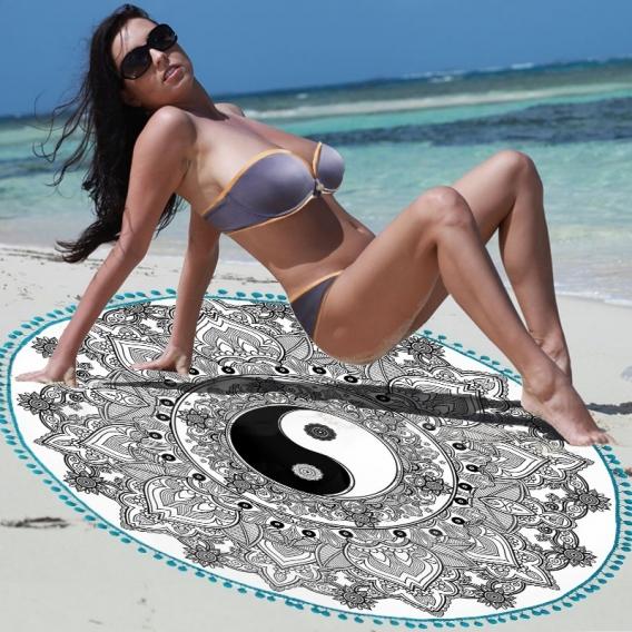 "Froté osuška ""Mandala 04"" 140cm"