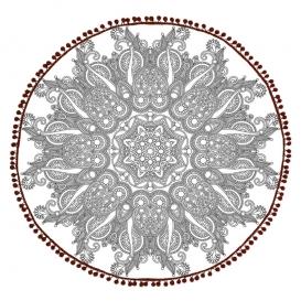 "Froté osuška ""Mandala 09"" 140cm"